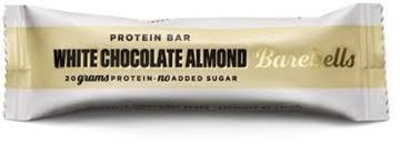 Picture of BAREBELLS PROTEION BAR WHITE CHOCLATE ALMOND 55G
