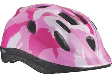 Picture of BBB KIDS HELMET BOOGY CAMOUFLAGE PINK