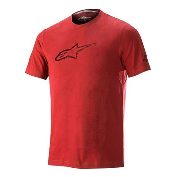 Picture of ALPINESTARS AGELESS  TECH TEE V2 XL RED