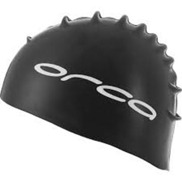 Picture of ORCA SILICONE SWIMCAP BK
