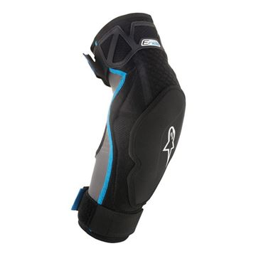 Picture of ALPINE ERIDE ELBOW PROTECT S/M BLACK/CYAN