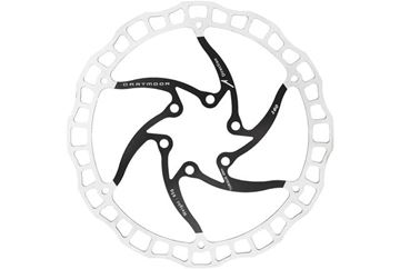 Picture of DARTMOOR NANO BRAKE DISC 6-HOLE BLACK 140MM