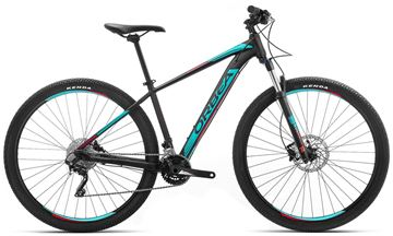 Picture of ORBEA MX 27 30 MOUNTAIN BIKE BLACK TURQUOISE