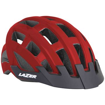 Picture of LAZER COMPACT FLASH RED HELMET