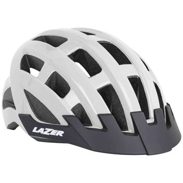 Picture of LAZER COMPACT WHITE HELMET