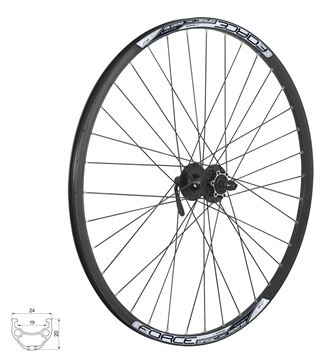 Picture of FORCE 29ER DISC FRONT WHEEL