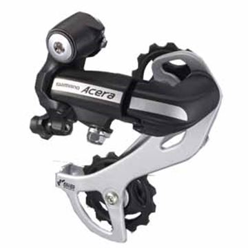 Picture of SHIMANO REAR DERAILLEUR ACERA M360 BLACK 7SP 8SP