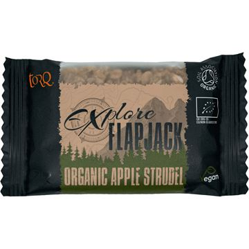 Picture of TORQ FLAPJACK ORGANIC APPLE STRUDEL