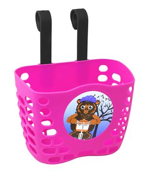Picture of FORCE BASKET FOR CHILDRENS HANDLEBARS, PINK