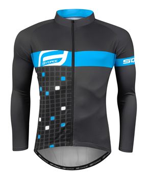 Picture of FORCE SQUARE LONG SLEEVES JERSEY
