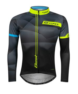 Picture of FORCE BEST LONG SLEEVE JERSEY