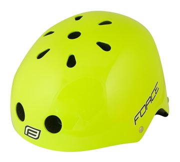 Picture of FORCE BMX HELMET FLUO