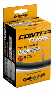 Picture of CONTINENTAL TUBE, TOUR 28 700C SLIM, 42MM VALVE