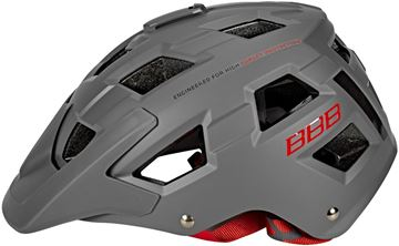 Picture of BBB NANGA HELMET MATT GRAY/RED