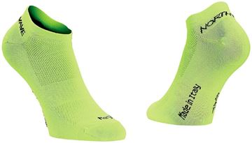 Picture of NORTHWAVE - GHOST 2 SOCK LIME FLUO