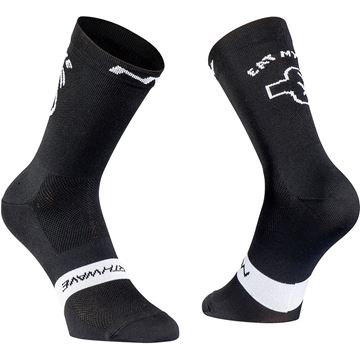Picture of NORTHWAVE - EAT MY DUST SOCK BLACK