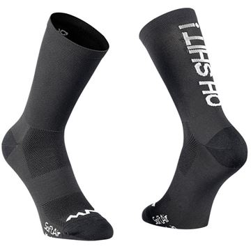 Picture of NORTHWAVE - OH SHIT !SOCK BLACK