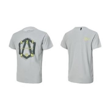 Picture of AZTRON FULL LOGO TEE-GREY