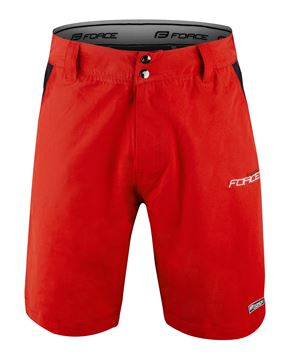 Picture of FORCE BLADE MTB SHORTS RED